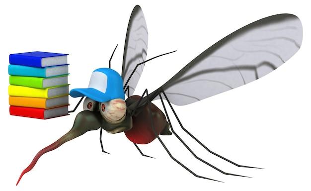 Mücke - 3d-illustration