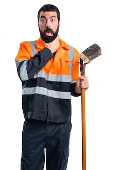 Müllmann ertrinkt sich