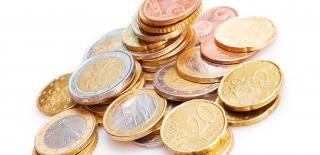 Münzen, haufen