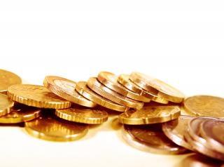 Münzen hautnah