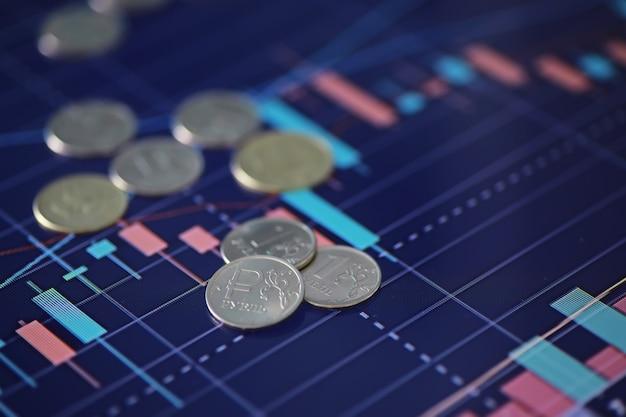 Münzen mit der aufschrift