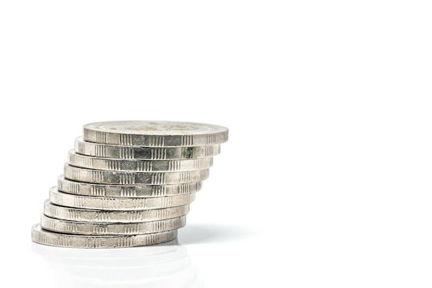Münzwährung thb weißer hintergrund
