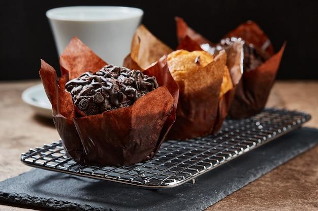 Muffin de tres pralinen