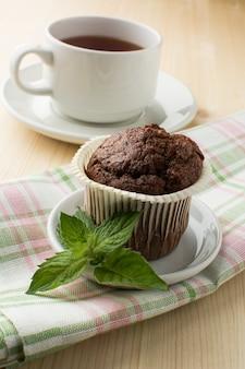 Muffin und tee