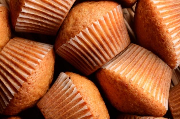 Muffinmuster. kann als hintergrund verwendet werden
