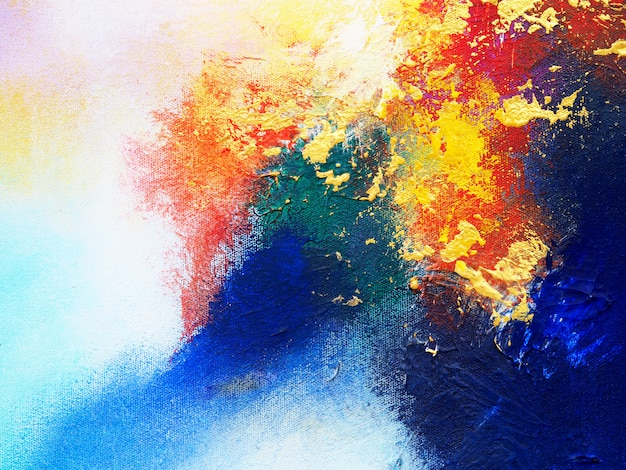 Multi farben der abstrakten bunten ölfarbe.