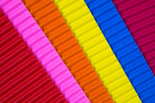 Multi farbige wellpappenbeschaffenheit