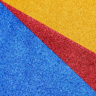 Multichromatisch glänzender glitzer