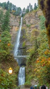 Multnomah falls columbia river gorge oregon usa