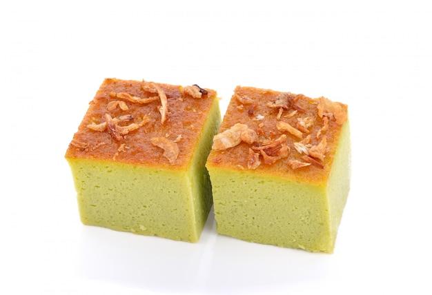 Mungbohnen thai pudding dessert