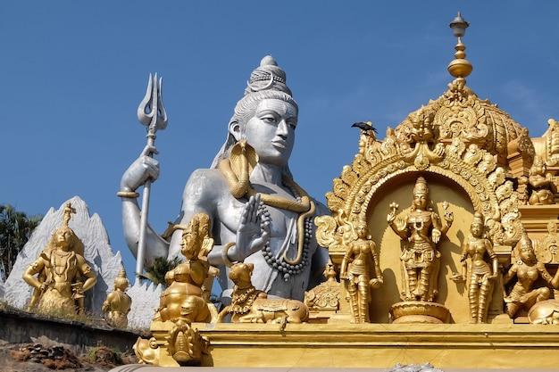 Murudeshvarava devasthana statue von shiva murdeshwar karnataka indien