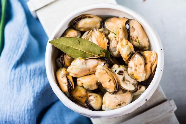 Muscheln zum Diätessen