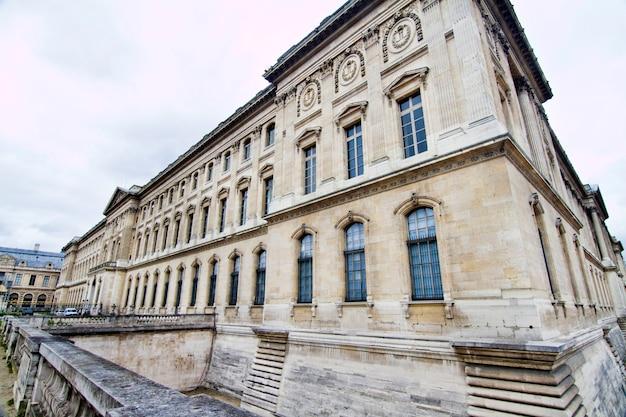 Museum des louvre in paris, frankreich