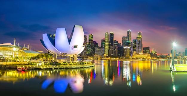 Museum für kunst und wissenschaft in singapur
