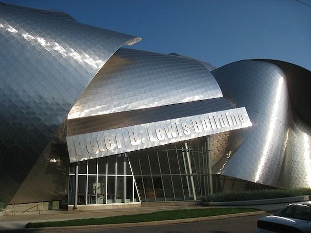 Museum kunst architektur cleveland ohio detail