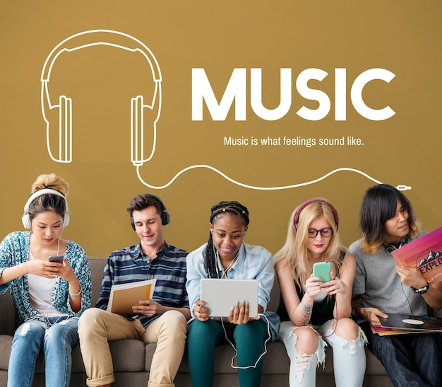 Musik lifestyle freizeit unterhaltungskonzept