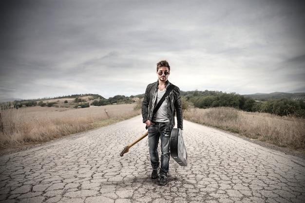 Musiker geht alleine auf tour