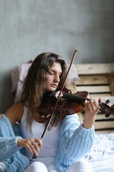 Musiker im bett