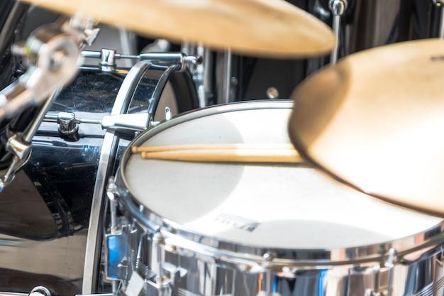 Musikinstrumente einer band
