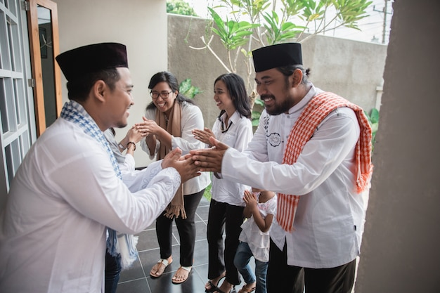 Muslim eid mubarak verzeiht anderen
