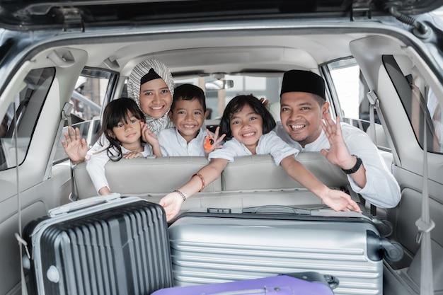 Muslimische familien- und kinderferienreise