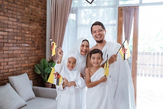 Muslimische umrah und hadsch mit brunei