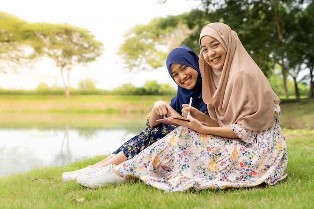 Muslimischer teenager social media