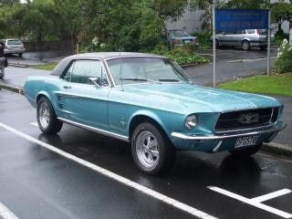 Mustang, rennfahrer