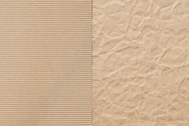 Muster aus braunem papier, das als hintergrund nützlich ist