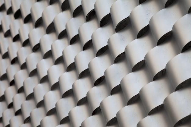 Muster aus stahl fokus rechte seite