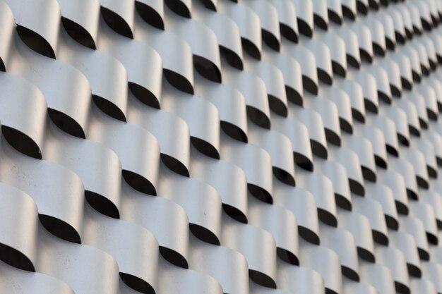 Muster aus stahlfokus linke seite