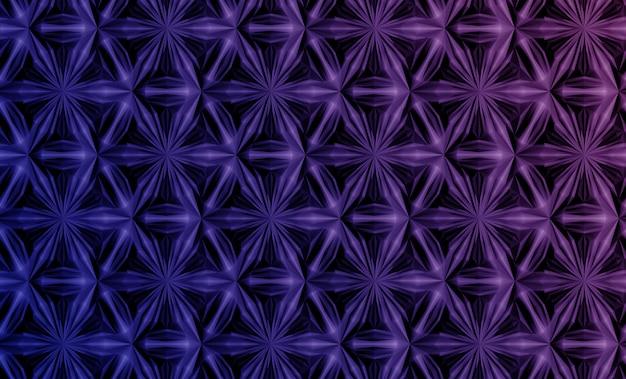 Muster basiert auf sechseckigem gitter