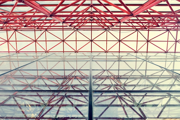 Muster bottom up architektur gebäude