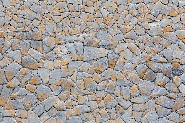Muster der alten steinmauer aufgetaucht