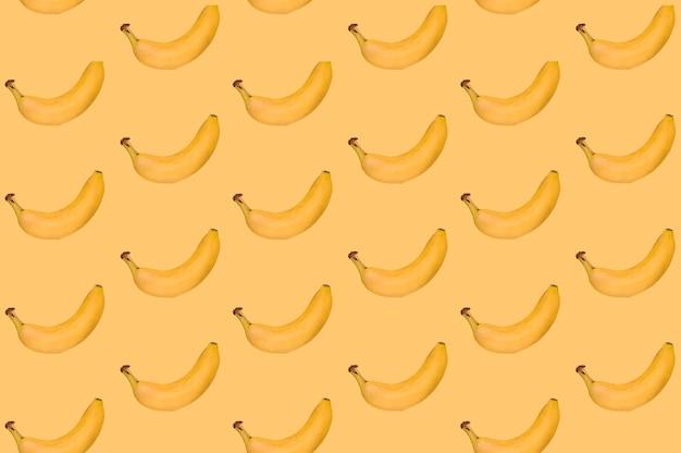 Muster der köstlichen banane