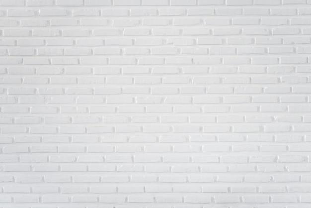Muster der weißen backsteinmauer für hintergrund und strukturierter, weißer wandhintergrund