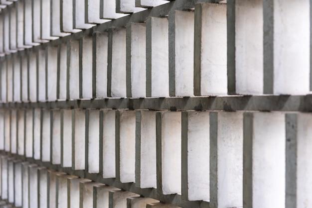 Muster der zementwand mit luftloch