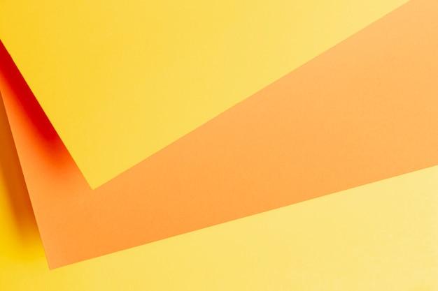 Muster mit orangetönen