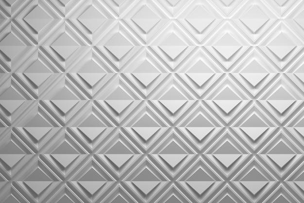 Muster mit papiereffekt aus quadraten und gefalteten rauten