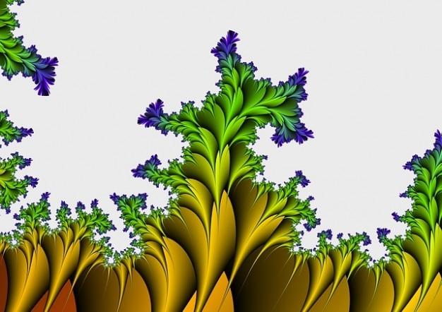 Muster oberfläche fraktale ästhetische abstrakte