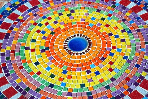Muster und farben der keramik für den hintergrund