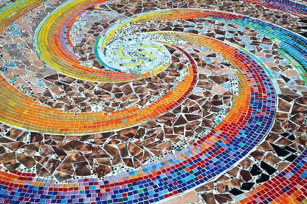 Muster und farben der keramik