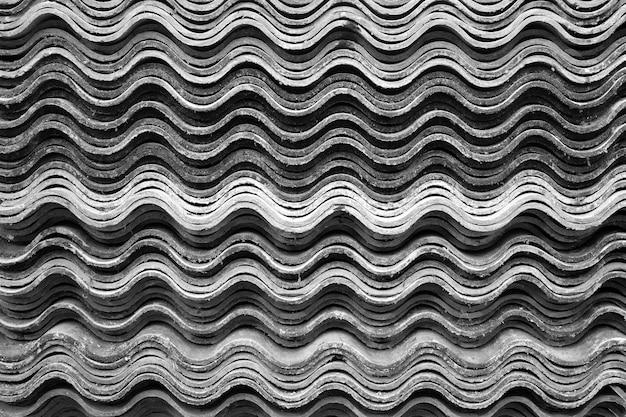 Muster von fliesen für die überdachung des hintergrundes.