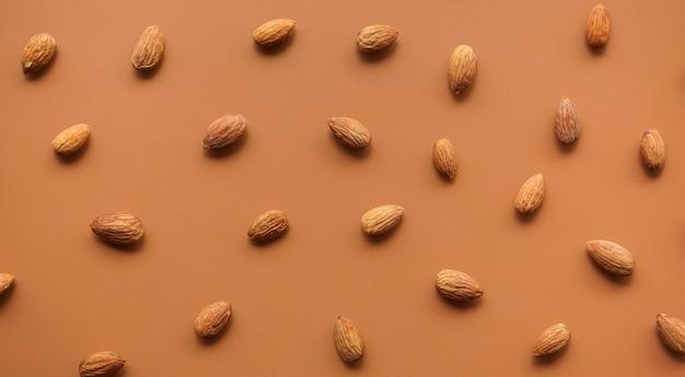 Muster von mandeln
