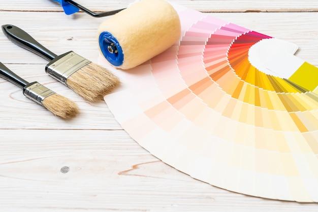 Musterfarbenkatalog oder farbmusterbuch