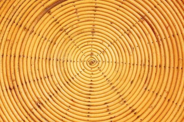 Mustertextur aus bambusgewebe handgemacht