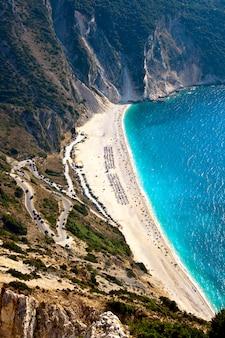 Myrtos strand, kefalonia