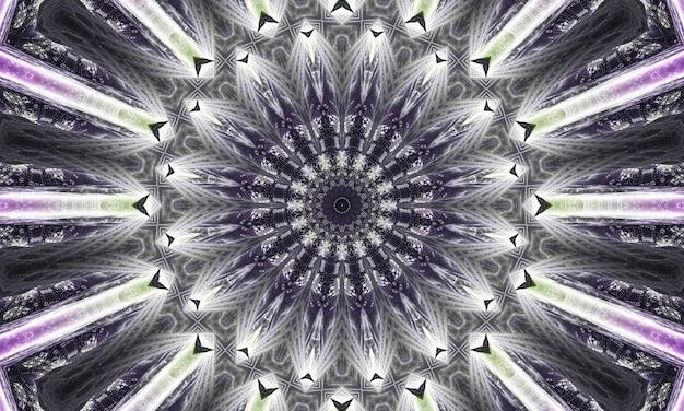 Mystisches graues marmorkaleidoskop auf blauem hintergrund. abstrakte linien malerei. marmor aquarelle. silberne kaleidoskopfarbe. weiße glasmalerei art.-nr. marmor textur. farbe gemischt