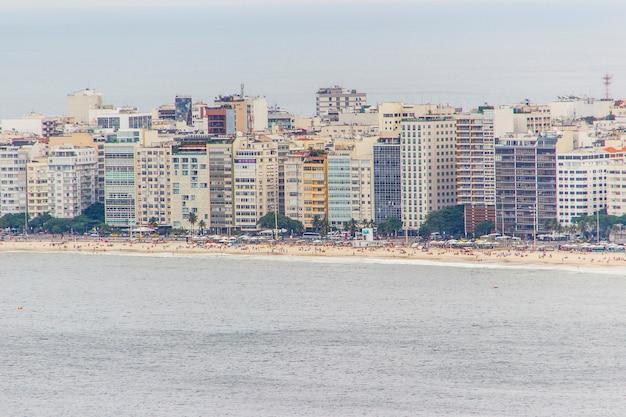 Nachbarschaft von copacabana in rio de janeiro