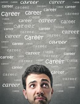 Nachdenken über karriere